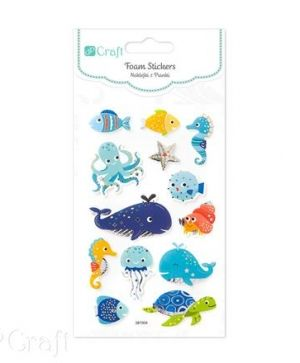 Foam stickers 13 pcs - Marine animals DPPI-015