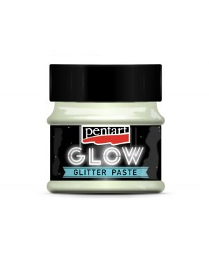 Glow glitter gel 50 ml - rainbow blue P36088