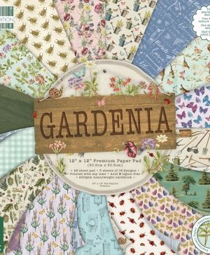 First edition - Gardenia 12x12 Paper Pad - FEPAD203