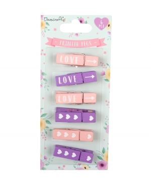 Printed Pegs - Wedding DCACC098