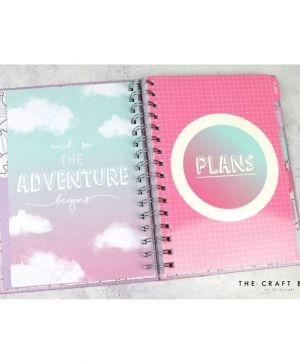 Planner / journal - Travel DCPLN012
