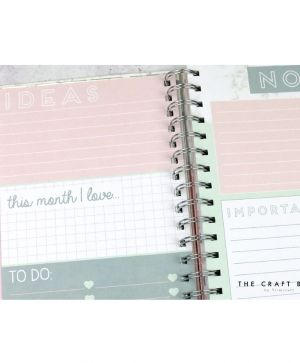 Planner / journal - Everyday Marble Big Plans DCPLN009