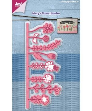 Cutting and embossing stencil - Mery's Flowerborder 6002-1219