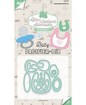 Cutting  stencil - Pacifier & Bib 6002-3135