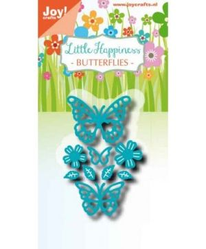 Cutting, embossing  stencil - Noor - LH - Butterflies 6002-1302