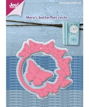 Cutting, embossing  stencil - Mery's Butterflies 6002-1075