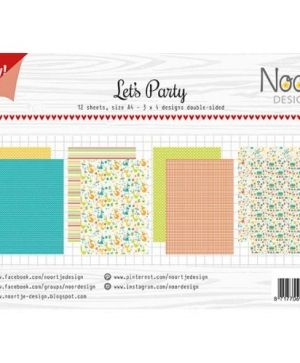 Paper pad A4 12 sheets - Let's Party 6011-0609