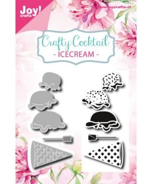 Stencils and Stamps - Icecreams 6004-0027