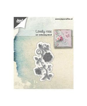 Cutting, embossing  stencil - Lovely Rose 6002-1190