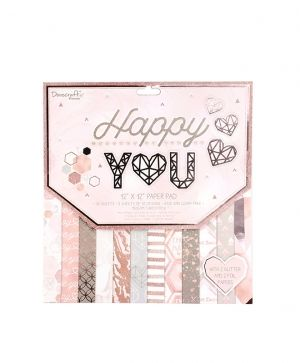 Dovecraft - Happy You 12''x12'' Paper Pad - DCPAP137