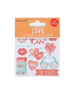 Dovecraft Sticker Book - Love DCSTB005