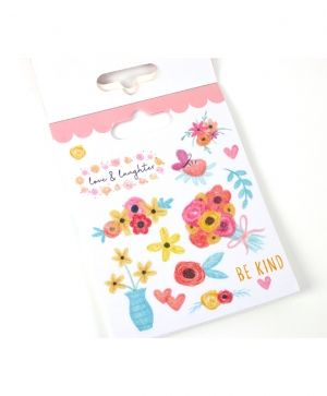 Dovecraft Sticker Book - Flowers DCSTB002