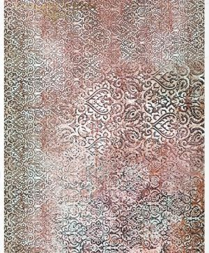 Decoupage Rice Paper A4 - Carpet oriental pattern ITD-R1590