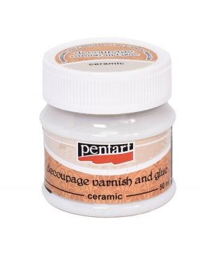 Decoupage varnish&glue ceramic 50ml - P0649