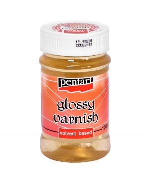 Glossy varnish, solvent-based 100ml - P2491