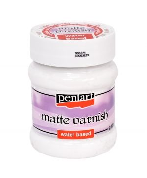 Matte varnish 230ml - P3223