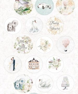 Stickers - Truly Yours 03 P13-TRU-13