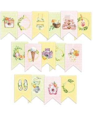 Decorative flags / banners 15pcs - Sunshine P13-SUN-32