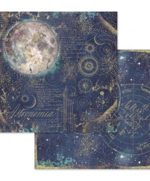 "Double face scrap paper 12""x12"" - Cosmos astral SBB614"