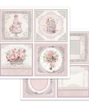 "Double face scrap paper 12""x12"" - Wedding cards SBB626"