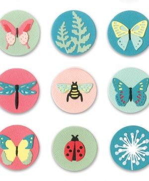 Sizzix Thinlits Die Set 10PK - Tiny Nature 663590