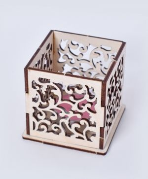 Wooden candle holder - Ornaments IDEA1800