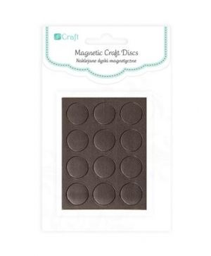 Magnetic craft discs 12pcs - DPMG-001