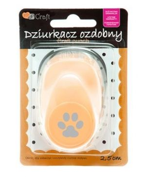 Craft punch 2,5cm - Paw JCDZ-110-084