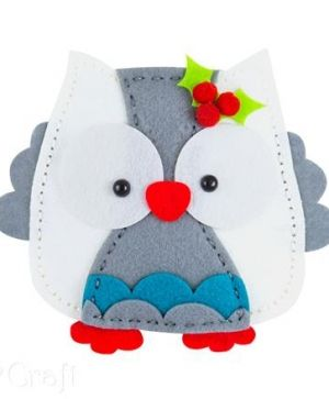 Felt craft kit - Owl toy KSFI-113