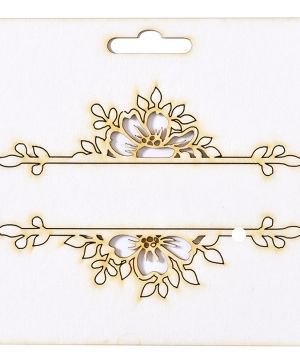 Chipboard element - Frize flowers IDEA1802