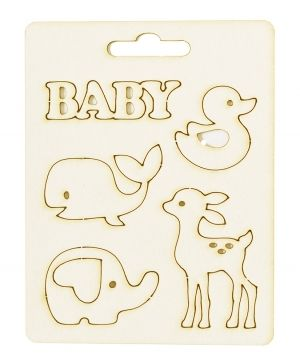 Chipboard element - Baby 1 IDEA1810