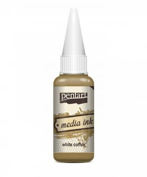 Media ink 20 ml - white coffee P21028