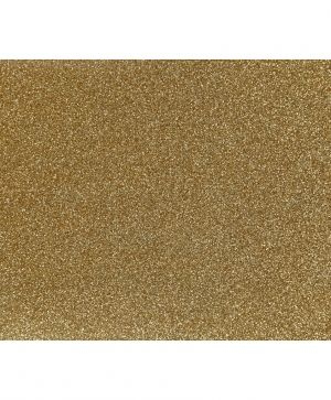 Iron on foil, A5, 1 sheet - Gold glitter C44325
