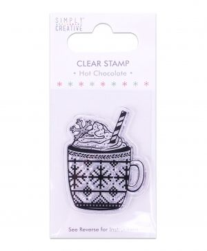 Clear stamp - Hot Chocolate SCSTP014X19