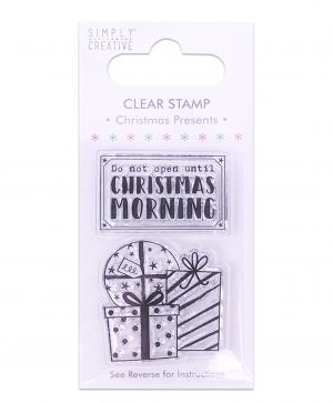 Clear stamp - Christmas Present SCSTP019X19