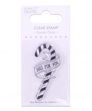 Clear stamp - Candy Cane SCSTP011X19
