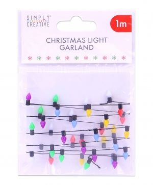 Simply Creative Basics Mini Christmas Lights - 1m SCTOP049X19
