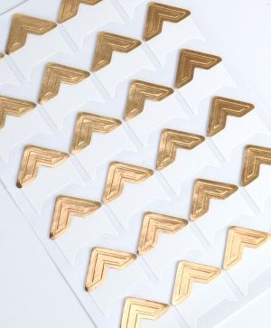Photo Corners 24pcs - gold DCBS239