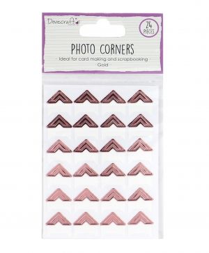 Photo Corners 24pcs - rose gold DCBS241
