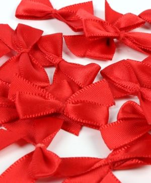 Simply Creative Mini Bows 16 pcs - Red SCRBN006