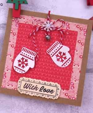 Paper Addicts 12x12 Paper Pad - Cosy Christmas PAPAD058X19