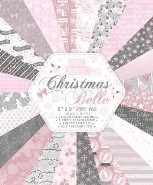 Paper Addicts 12x12 Paper Pad - Christmas Belle PAPAD055X19