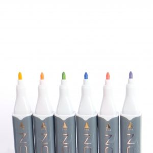 Sketch Markers 6pcs - Pastels NOV009