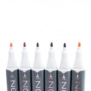 Sketch Markers 6pcs - Neutrals NOV004
