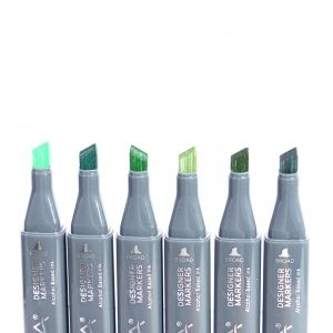 Sketch Markers 6pcs - Greens NOV003