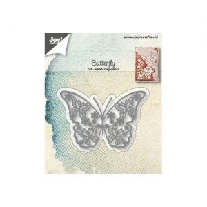 Cutting, embossing  stencil - Butterfly 6002-1287