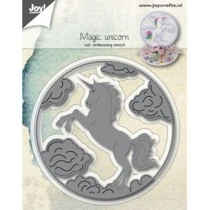 Cutting, embossing  stencil - Magic Unicorn 6002-1170