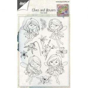 Clear Stamp - Fairies & Flowers 6410-0483