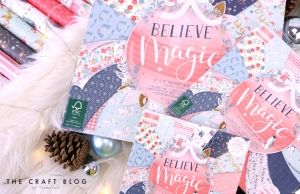 "First edition 6""x6"" Paper Pad - Believe In Magic FEPAD217X19"