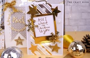 First edition 12x12 Paper Pad - White Christmas FEPAD221X19